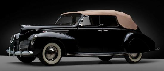 1938 lincoln zephyr convertible sedan