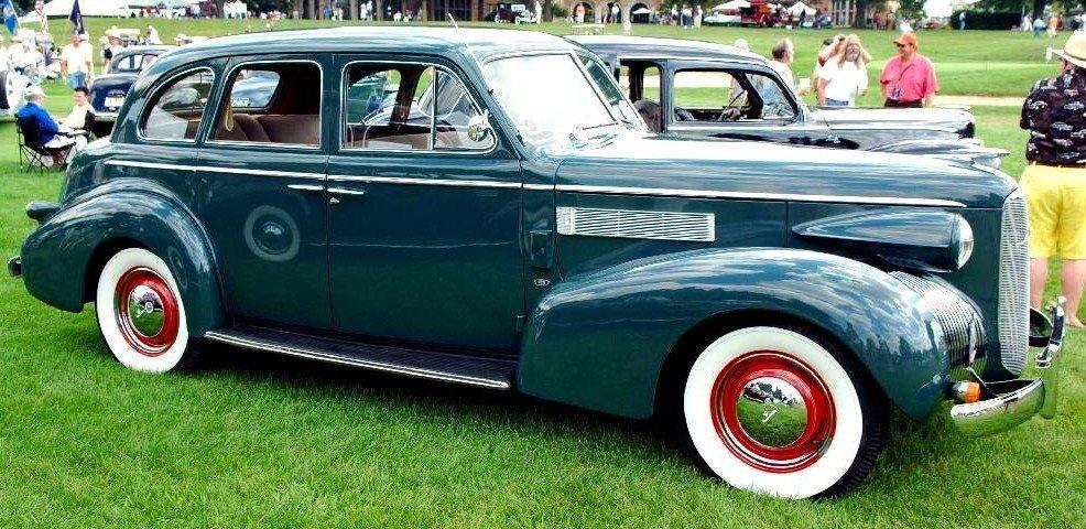 1939 lasalle 4dr sedan 1