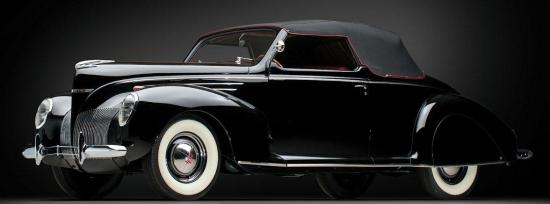 1939 lincoln zephyr convertible coupe