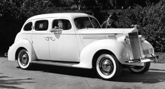 1939 packard six touring sedan