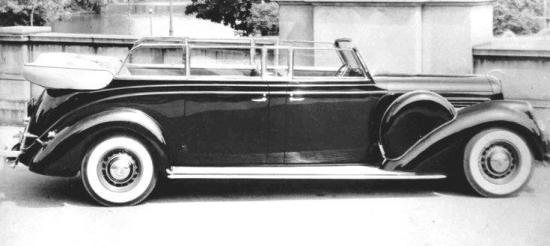 1939 presidential limo
