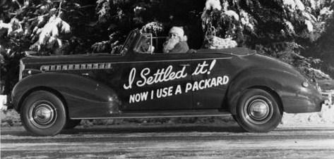 1940 110 convertible coupe santa