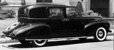 1940 lincoln zephyr brunn town car