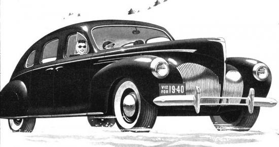 1940 lincoln zephyr sedan