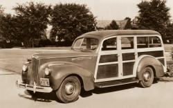 1940 packard 110 hercules two tone
