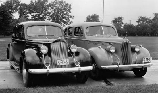 1940 packard six comparaison