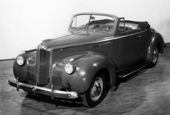1941 110 convertible coupe prototype