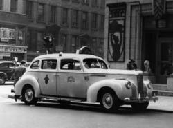 1941 110 taxi cab