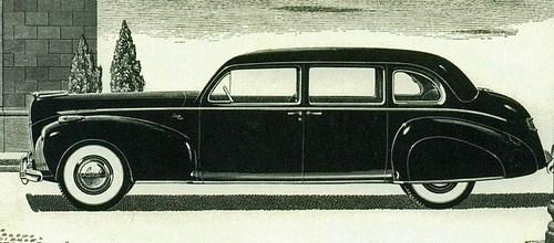 1941 lincoln zephyr custom sedan