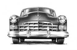 1948 cadillac grille