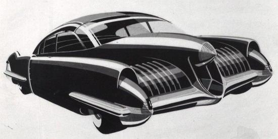1948 cadillac projection