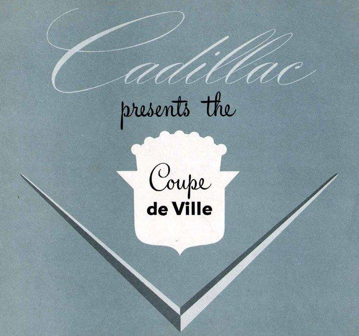 1949 coupe de ville catalogue