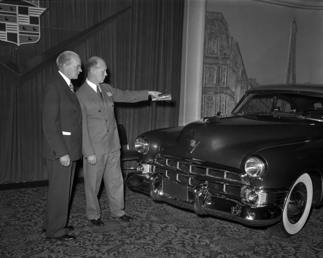 1949 coupe de ville prototype