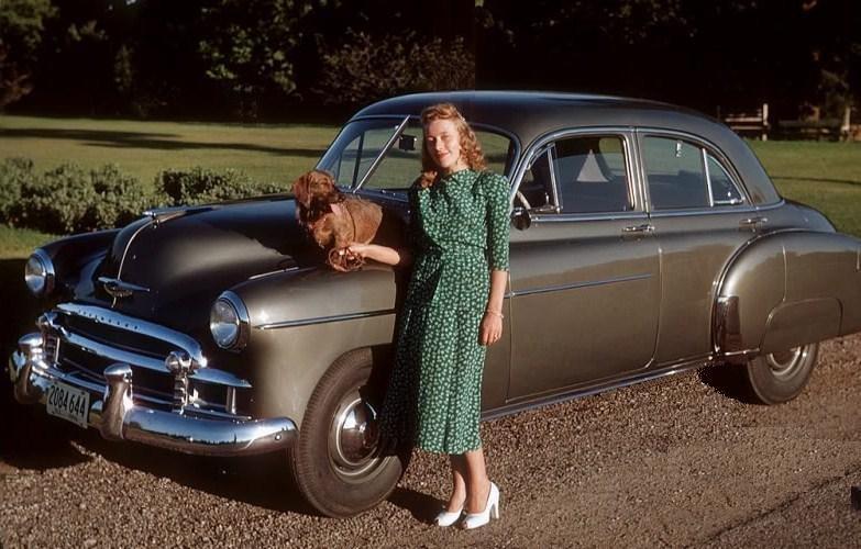 1950 chevrolet 4 door sedan