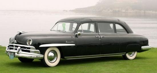 1950 lincoln cosmopoliitan limousine henney