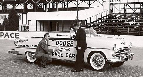 1954 dodge pace car