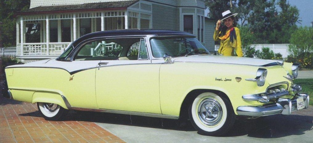 1955 dodge custom royal lancer hardtop coupe 1