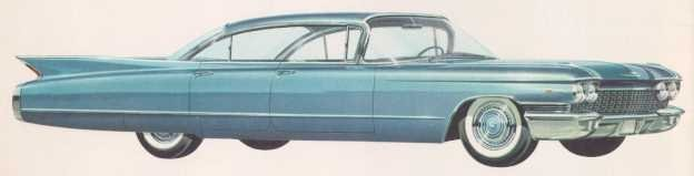 1960 sedan deville 6window