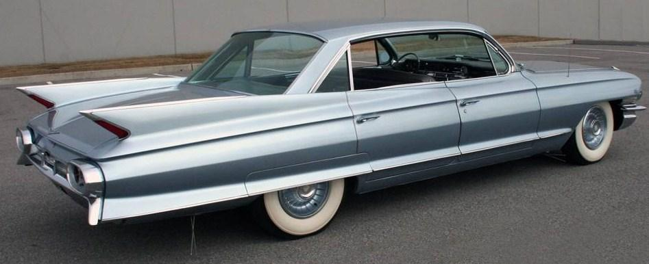1961 cadillac six window sedan deville rvr