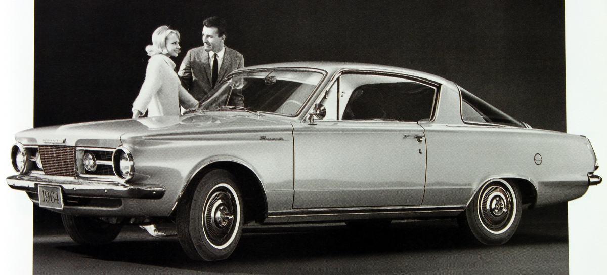 1964 barracuda publicit