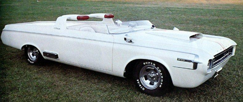 1964 dodge charger roadster concept car
