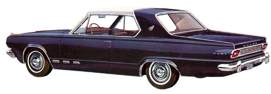 1965 dart gt rear