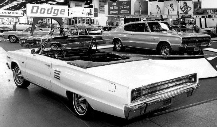 1966 dodge exhibit