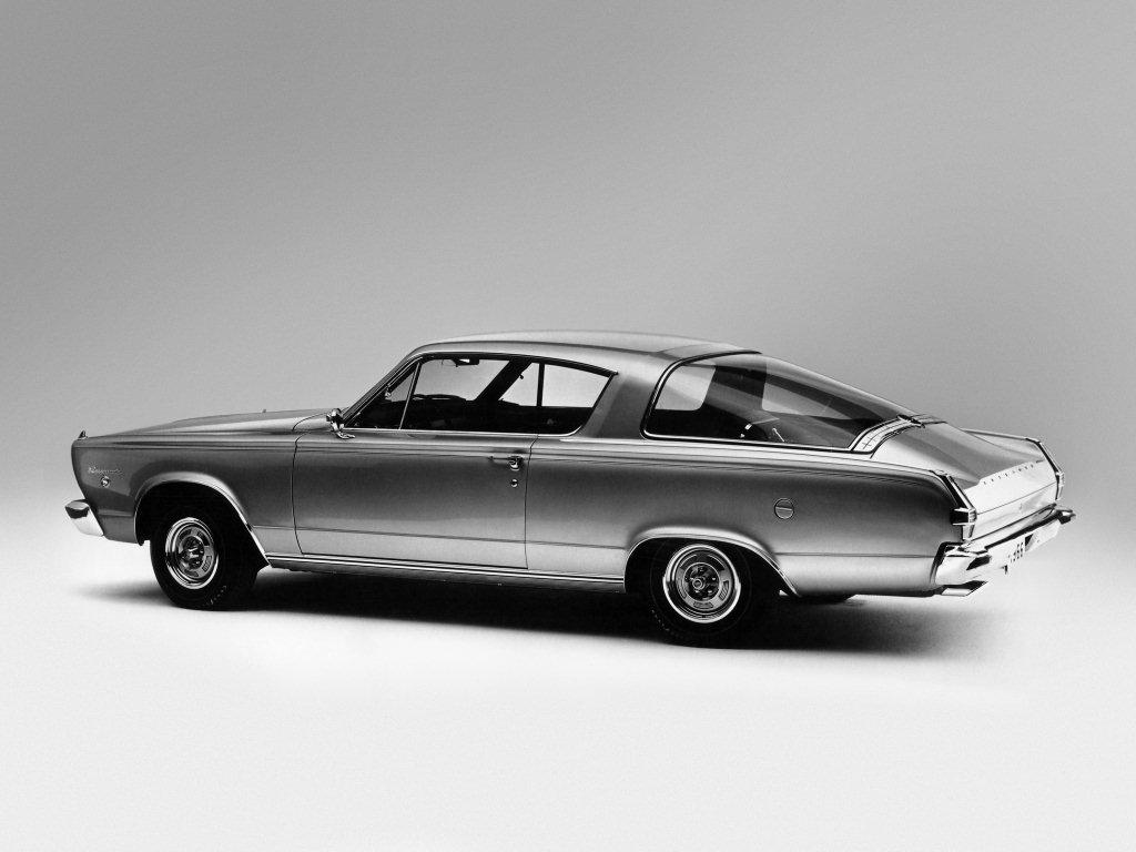 1966 barracuda arri re gauche