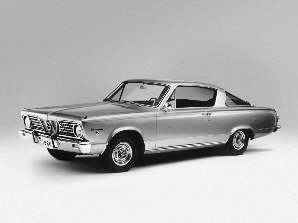1966 barracuda avant gauche