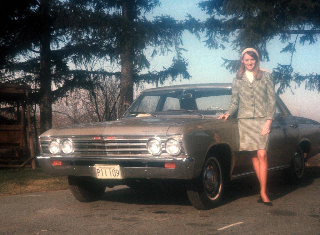 1967 chevrolet chevelle 4 door sedan