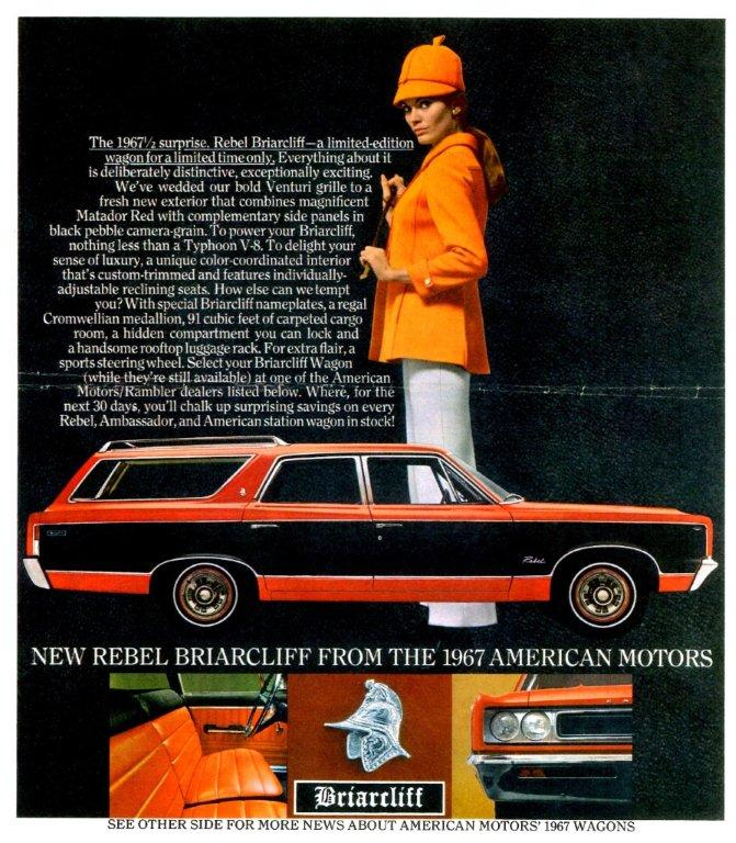 1967 publicite amc couleur matador