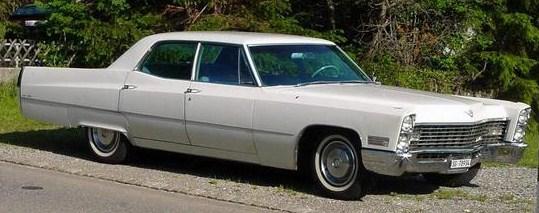 1967 sedan deville