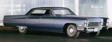 1968 sedan de ville