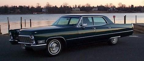 1968 sedan deville
