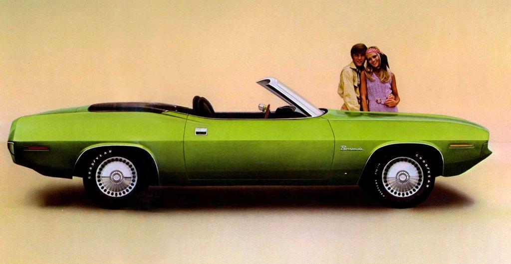 1970 barracuda convertible