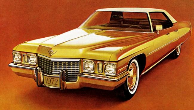 1972 hardtop sedan deville