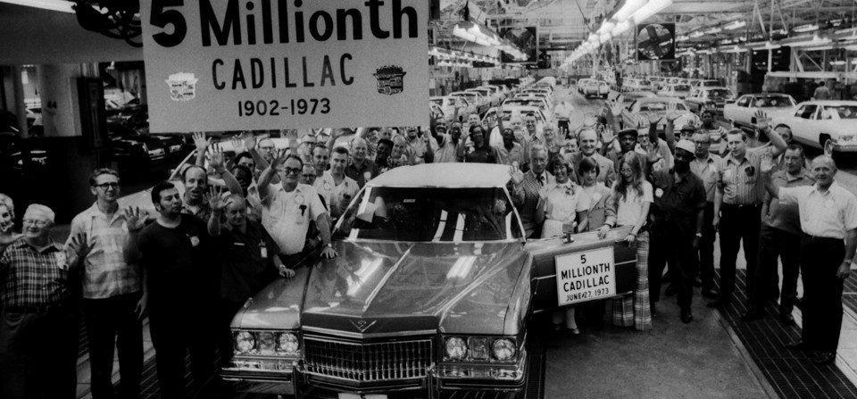 1973 5 millionieme cadillac