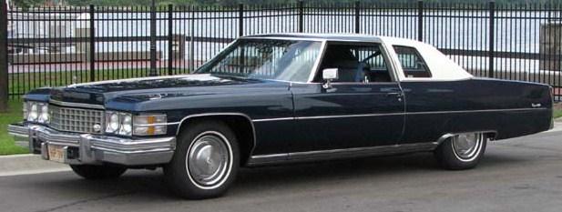 1974 coupe deville