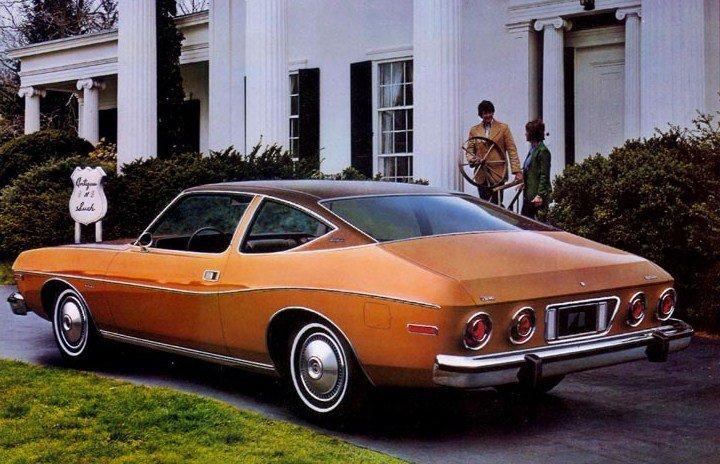 1974 coupe vue arriere