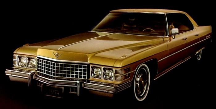 1974 hardtop sedan deville
