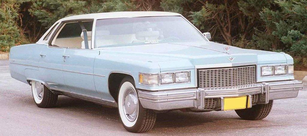 1975 sedan deville