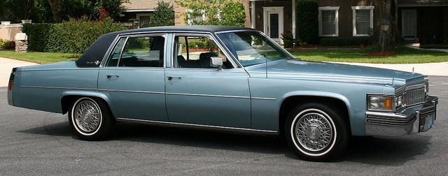 1978 sedan deville
