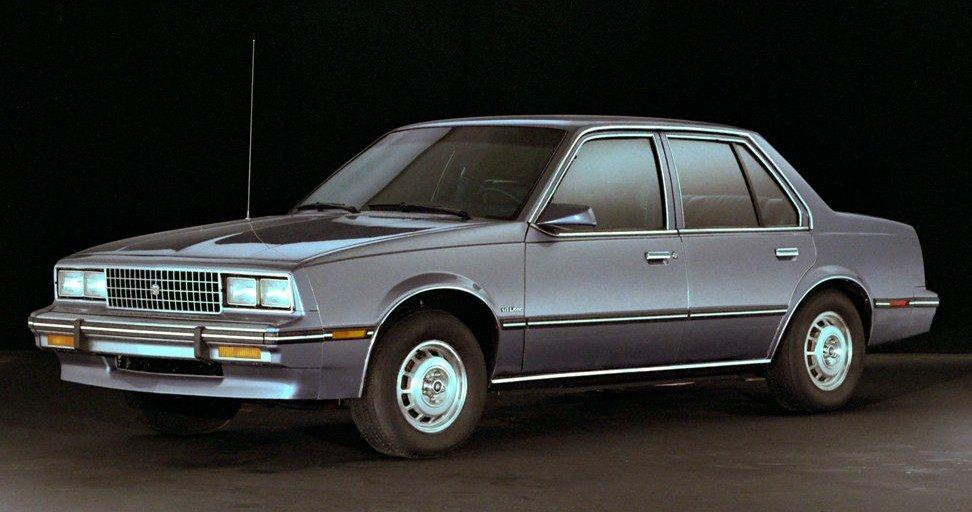 Cadillac Cimarron 1981 1988