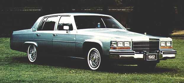 1982 sedan deville