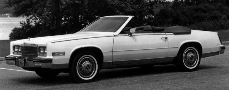 1984 eldorado convertible