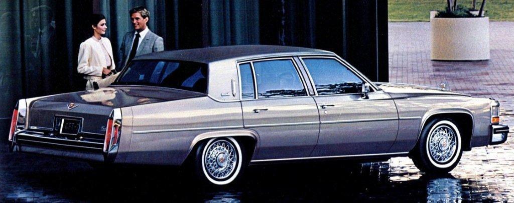 1984 sedan deville