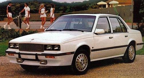 1985 cimarron 1