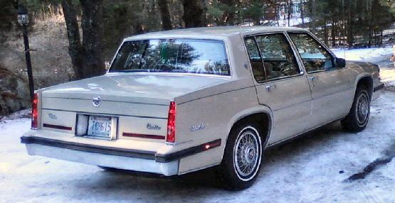 1985 sedan deville 2
