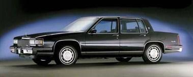 1987 sedan deville