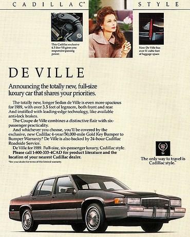 1989 publicite